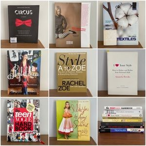 8 Fashion/Style/Design Book Bundle Industry MUST